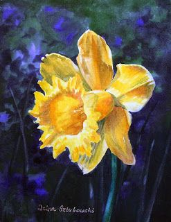 A Little Bit of Nostalgia - Daffodil Paintings