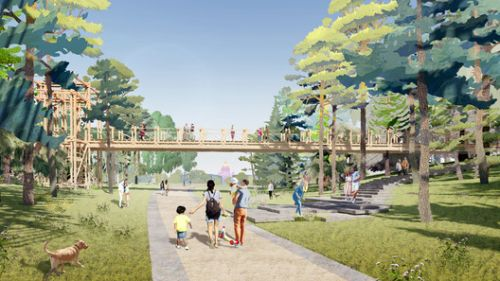 Studio 44 and WEST 8 Win the Tuchkov Buyan Park Competition in Saint Petersburg, Russia