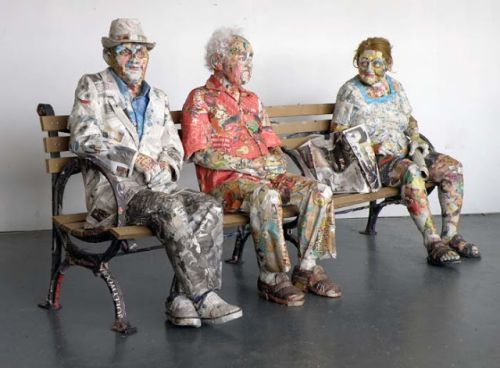 Best 33 Amazing sculpture Paper Mache images