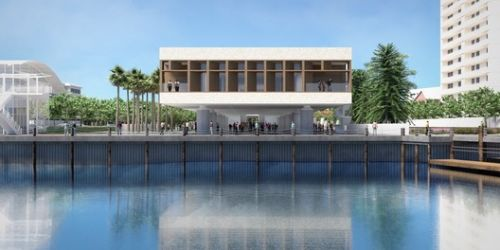 IAAM, the International African American Museum Is Now Under Construction