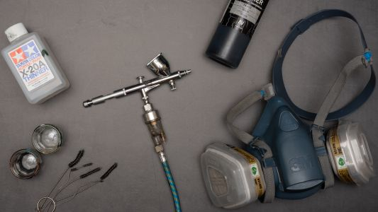 ToP Tip: Clean your Airbrush fast