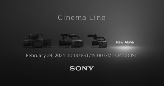 Sony Teases Cinema Line Camera Release for February 23