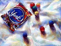 GET YOUR CANDY ON! - pastels by Susan Roden