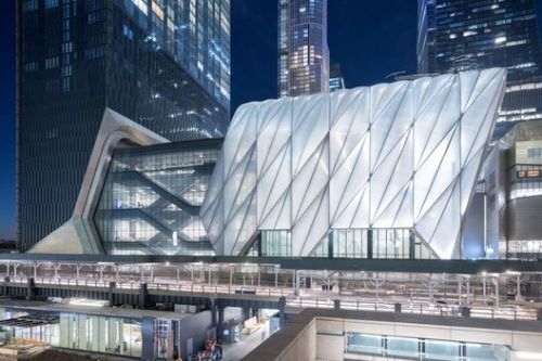 The Shed Opens in New York's Hudson Yards
