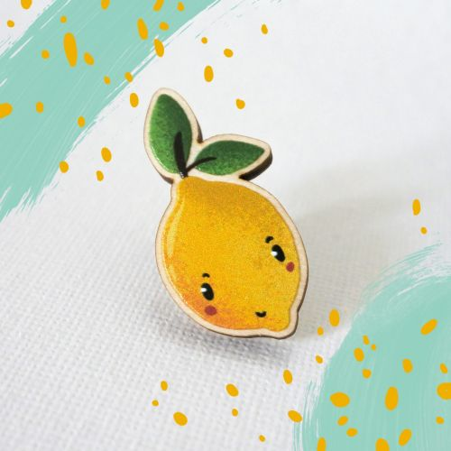 Super cute wooden pins
