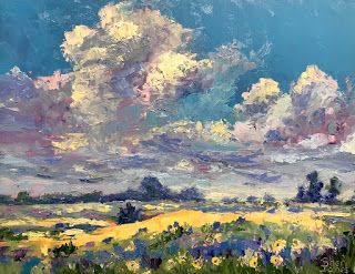 Cresson Color, New Contemporary Landscape Painting by Sheri Jones