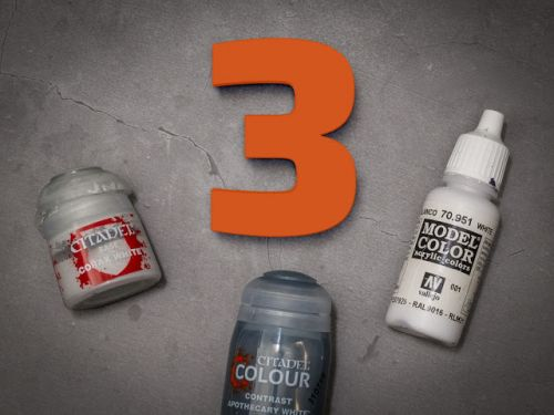 ToP Tip: 3 must have paints for painting white