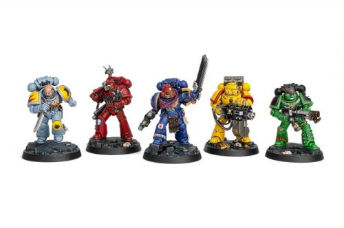 Showcase: Space Marine Heroes from Space Marine Adventures