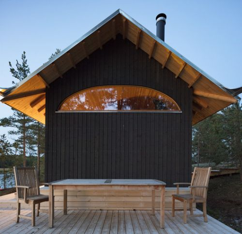 Sauna and Guesthouse / Mer Architects