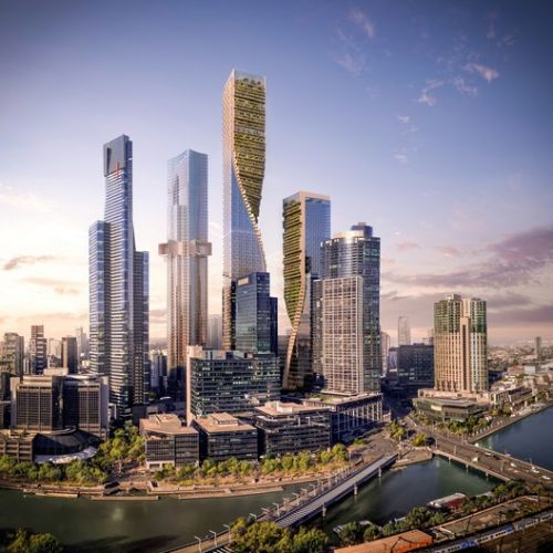 UNStudio Named Winner of Landmark Melbourne Skyscraper Competition