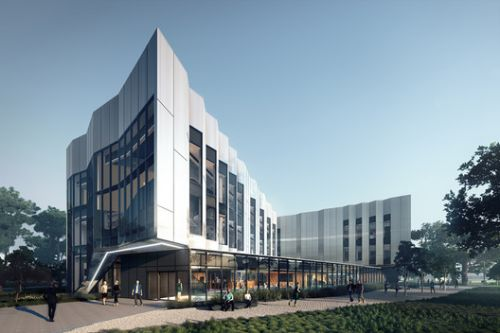 Woods Bagot Designs Sawtooth Technology Hub for Victoria University in Melbourne