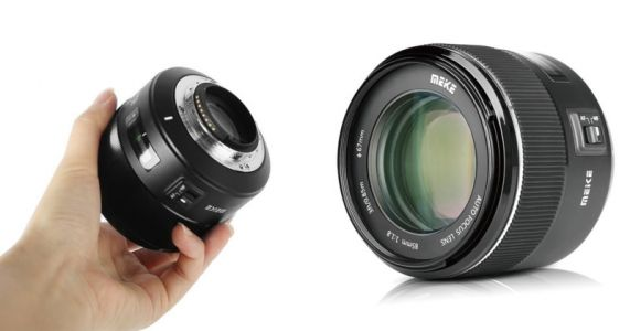 Meike Unveils Cheap 85mm f/1.8 for Canon and Nikon, Its First AF Lens