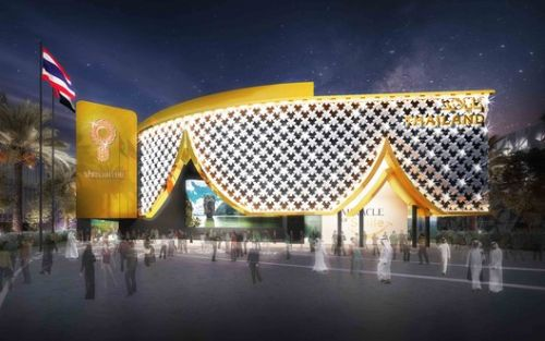 "Thailand Begins Construction on ""Curtain of Blossoms"" for Expo 2020 Dubai Pavilion"