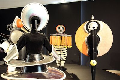 Oskar Schlemmer. Multi talented artist associated with the Bauhaus School