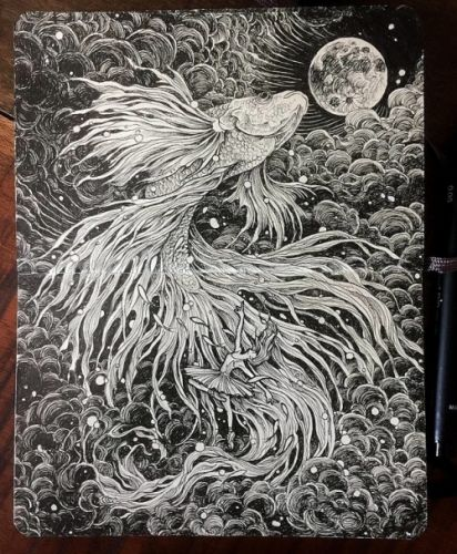 Detailed Drawings by Kerby Rosane Kerby Rosanes is a Filipino