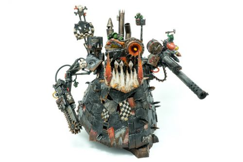 Showcase: Ork Goff Stompa by Silvernome