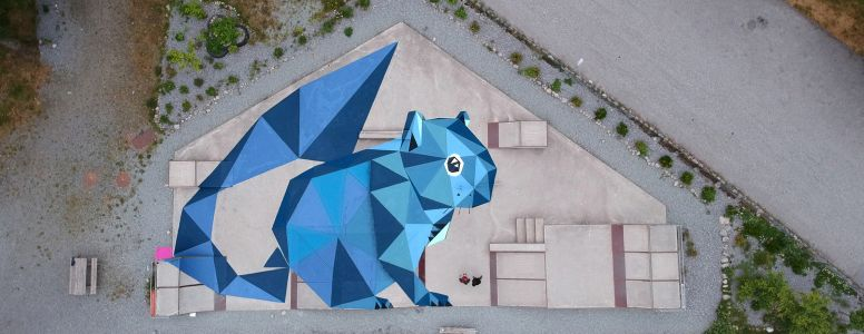 'The squirrel house' by TEN in Norway