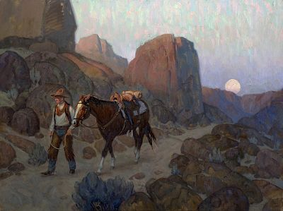 Night of Artists show at Briscoe Museum
