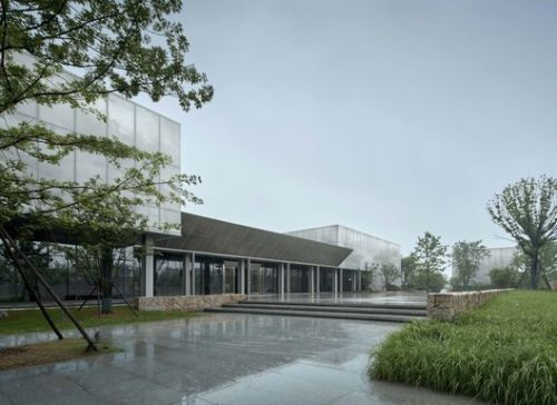 Reservation and Monitor Center of Liangzhu Heritage Sites / CUC·ZOYO