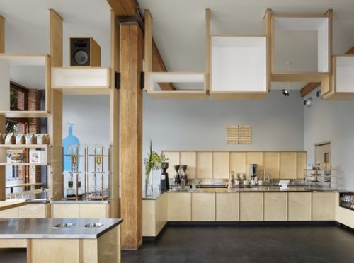 Blue Bottle South Park / Bohlin Cywinski Jackson