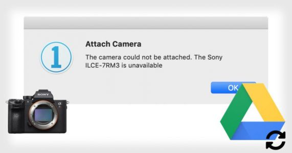 Camera Not Tethering to Capture One? Cloud File Syncing May Be to Blame