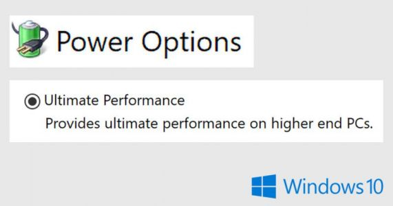 Windows 10 is Getting a New 'Ultimate Performance' Mode for Pros
