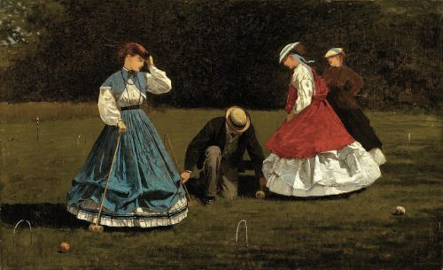 CROQUET, SEX AND CONCEPTUAL ART