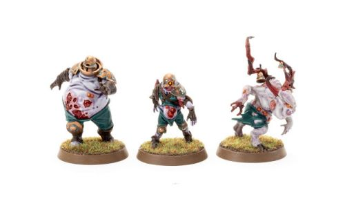 Tale of Tuesdays: Garfy's Month 4 - Nurgle's Rotters