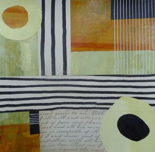 COLLAGE No. 6 by Linda Popple