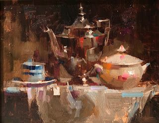 """Tea Party"" -- Sold"