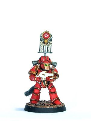 Showcase: Thousand Sons Legionary in MkIII Armour by FruitBear