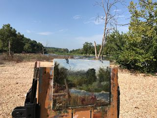 The Old River Bed by artist Pat Meyer