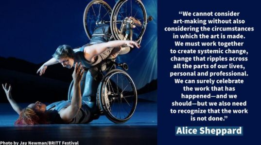 Notable Quotable: Alice Sheppard