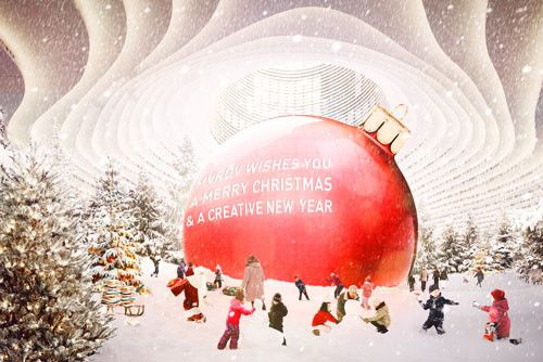 Happy Holidays from the Architects