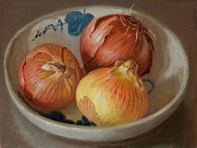 Onions painting