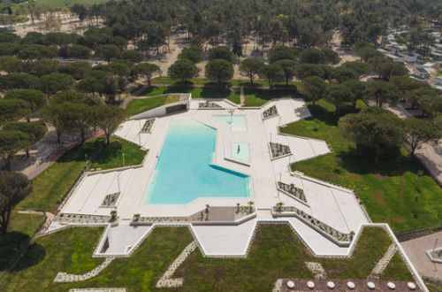 Camping Stella Maris Swimming Pool and Reception / NFO