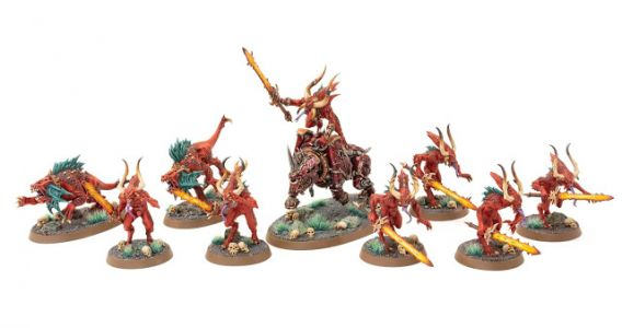 Showcase: Warcry Daemons of Khorne Warband