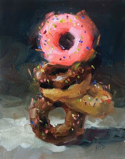 "DONUTS, ""BALANCED NUTRITION"" by TOM BROWN"