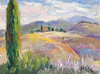 "New ""Flowing Patterns"" from Tuscany by Contemporary Impressionist Niki Gulley"