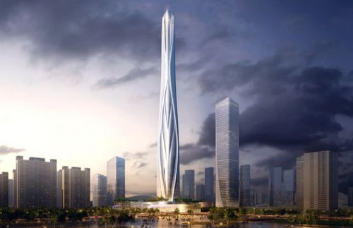 Adrian Smith + Gordon Gill to Design China's Tallest Skyscraper