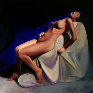 Mark Webster - Mandy Nude 301 Figurative Oil Painting