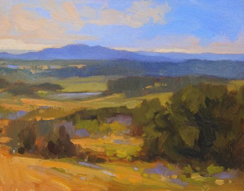 3 Tips to Make a Boring Plein Air Subject Fun