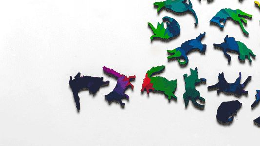 Herding Cats: Bring Together Dozens of Moody Felines in This Technicolor Jigsaw Puzzle
