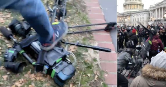 Rioters at the U.S. Capitol Destroyed Thousands of Dollars of Journalists' Equipment