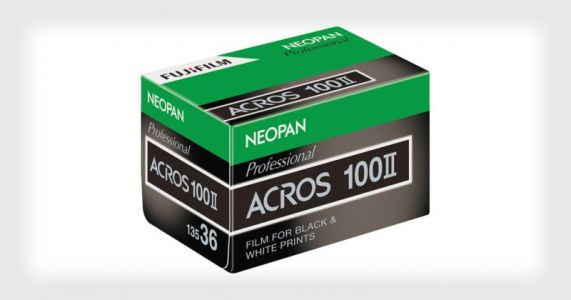 Fujifilm B&W Film is Back: Neopan 100 Acros II Announced
