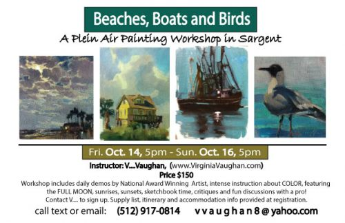 UPCOMING WORKSHOPS and LESSONS