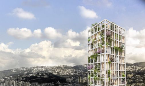 Anastasia Elrouss Designs a Vertical Eco-Village in Beirut, a New Way to Inhabit the Built Environment