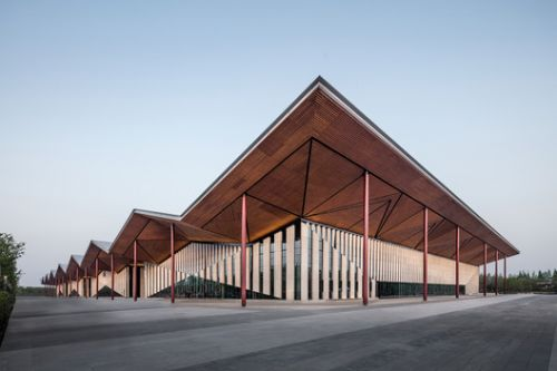 China Flower Expo Renaissance Pavilion / Huajian Group Shanghai Architectural Design & Research Institute