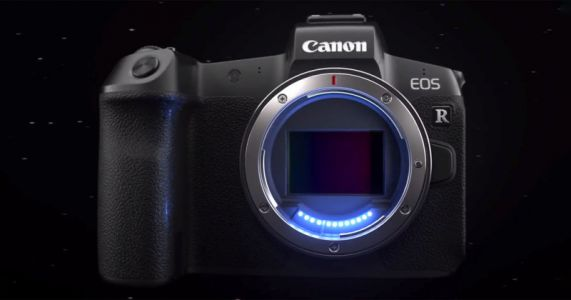 Canon Unveils the EOS R, Its First Full-Frame Mirrorless Camera