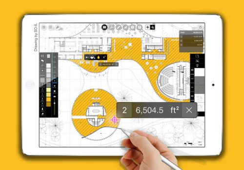 "Morpholio's ""Smart Fill"" Extension Calculates Areas In Your Drawings As You Sk"